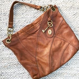Fossil | Patchwork Leather Tote